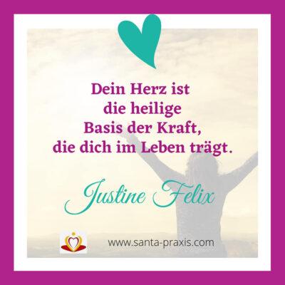 Justine Felix - Zitat