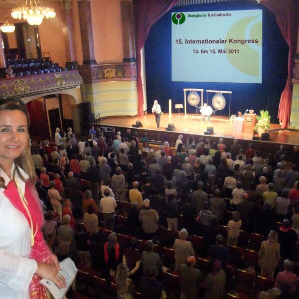 Justine Felix - 2011 Konress in Heidelberg